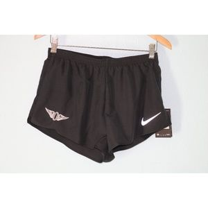 Nike Men's Medium Black Dri Fit Running Shorts NEW